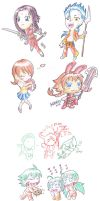 .hack CHIBIs by silentclearlite