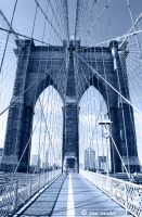 Brooklyn Bridge by jannyjanjan