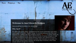 New Home of Ann Edwards Design by onesweetpoison