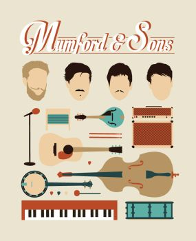 Mumford and Sons design by BuiltToFail