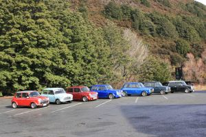 Mini's line up by Mortitia212