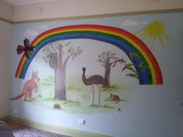 Baby's Australian Theme Room by gypsysnail