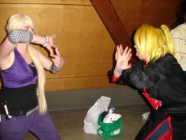 Deidara Vs. Ino by LV9