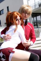 Bakuman - lovey dovey couple by MikiyoOo