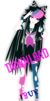 DanganRonpa Ibuki Mioda Ver2 DOWNLOAD by RinXNeruXD
