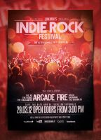 Indie Poster Template Vol. 14 by IndieGround