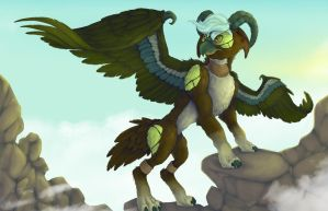 Earth Elegryph by francis-john