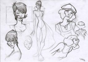 July Sketches by DenisM79