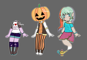 (Closed) halloween adopts by PixiAdopts