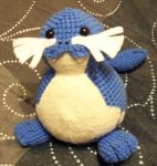 Custom Sealeo Amigurumi Plush by Lunarchik13