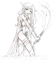 Elven Warrior by loveletters-to-japan