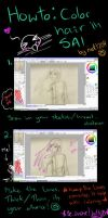 :tutorial: Hair Color with SAI by net1204