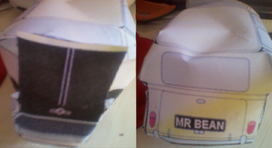 MR BEAN Mobile PAPERCRAFT by MarKZ92