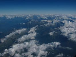 Clouds from above 1 by BlueX-pl