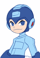 MegaMan Ben 10 OV style by rongs1234