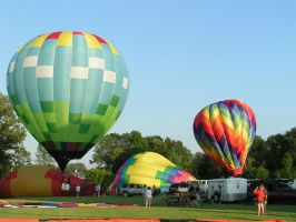 balloon fest d by ItsAllStock