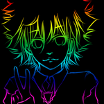 RAINBOW Tsuna by deza-mono
