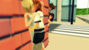 Naughty Sora and Kairi by 0611patty2