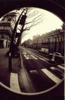 Fisheye  Concorde Paris by SarahCleary