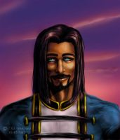 Yet Another Portrait of Zhalar by teutelquessir