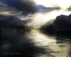 Terragen - Lost In Light by tigaer
