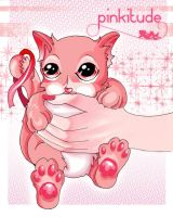 Pinkitude Cat by Dellirium