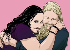 Tuomas and Marco by gaita42