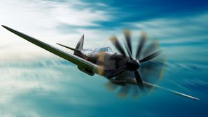 MKII Spitfire by Kaelthas-Wolfheart