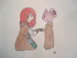 Emily and Miskit by cake5313