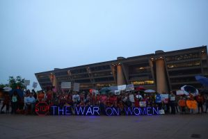 Stop the War on Us by bowtiephotography