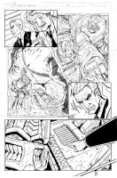 Grimlock page 02 inks by MarceloMatere