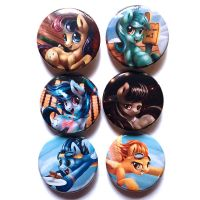 BG Pony Buttons! by Tsitra360
