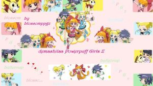 demashitaa Powerpuff Girls Z by blossomppgz