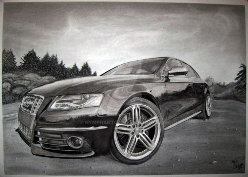 Charcoal Audi by Nymphantom