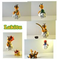 Weekly Sculpture: Lakitu by ClayPita