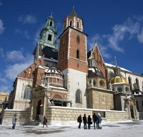 Wawel Cathedral by jufik