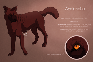 Avalanche reference sheet by kippurable