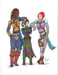 Mando Ladies by mighty-mando