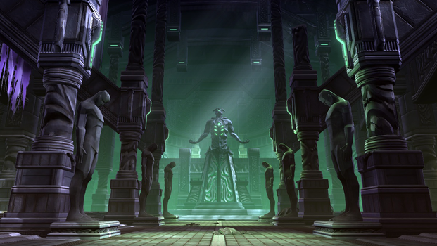 SW:TOR - Dromund Kass Dark Temple by Xoza
