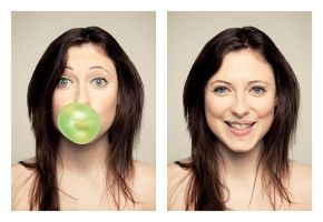 the joy of chewing gum by Moramarth
