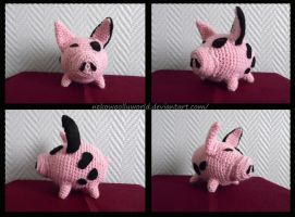 Pig of The Legend of Zelda The Windwaker by NekoWoollyWorld