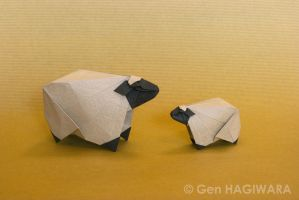 Origami Sheep by GEN-H