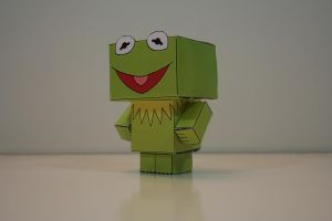 Kermit the Frog (Side) by Mikhaelo-Johanio