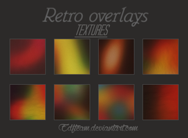 Retro Overlays Textures. by EDFTeam