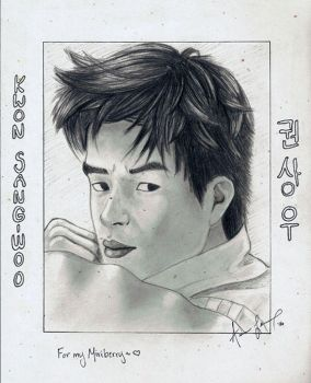 Kwon Sang-Woo for my Miriberry by miss-ducky