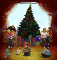 Christmas At my house... by CeruleanRaven