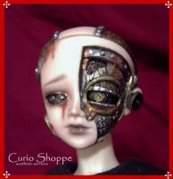 Steampunk Automaton BJD 04 by mourningwake-press