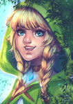 Linkle by Little-Miss-Boxie