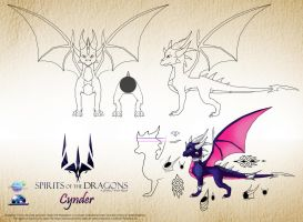 Meet the Dragons- Cynder by TheShabanazium