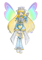 Advanced Cure Hope .:Precure NLA:. by CandySkitty